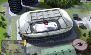 3D Stadionansicht Online-Eishockeymanager